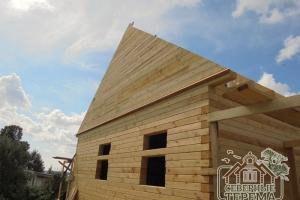 Выровненный фронтон, контур крыши