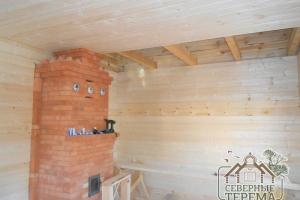 Монтаж чистового потолка в утепленном помещении