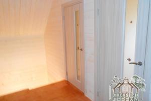 Выполнена пропитка/покраска пола 2 этажа