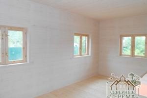 Покраска/пропитка стен помещений при чистовой отделке