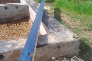 Брусовой дом будет ставиться на готовый ленточный фундамент