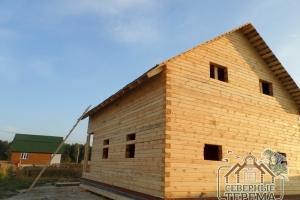 Дом из профилированного бруса 150х200 готов