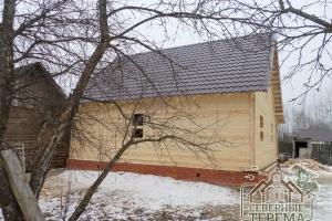 Мы собираем деревянные дома нашим Заказчикам в любое время года