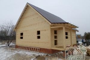Дома из профилированного бруса - разумное вложение Ваших средств в строительство!
