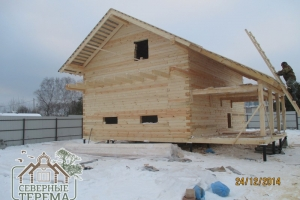 Заказывайте доступные и качественные дома из бруса в компании