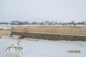 Будем строить дом из профилированного бруса 150х200
